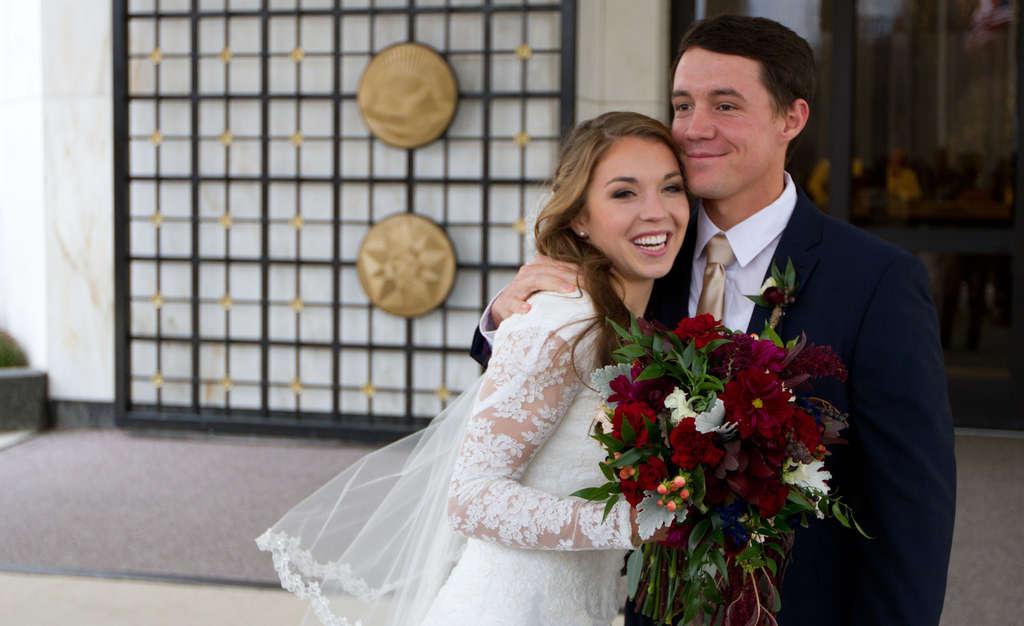 Katie Rigby and Hayden Rogers.