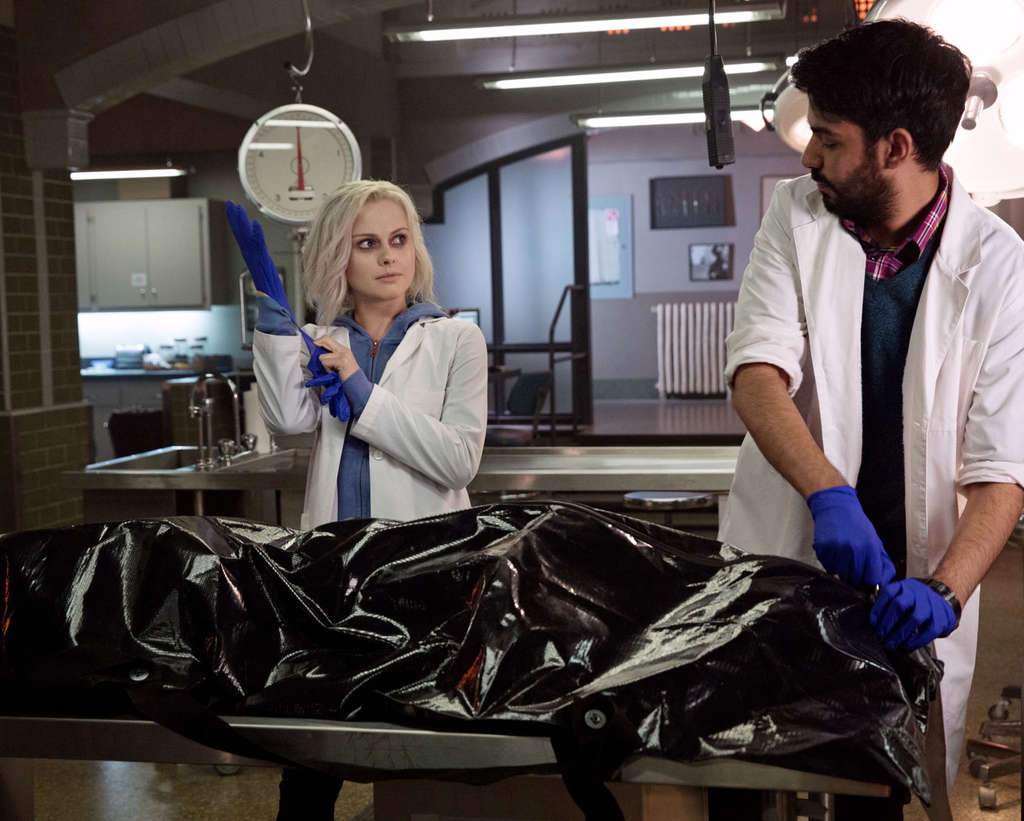 Rose McIver isn´t just a really pale morgue employee, working with Rahul Kohli. She´s undead . . . and a crime-fighter.