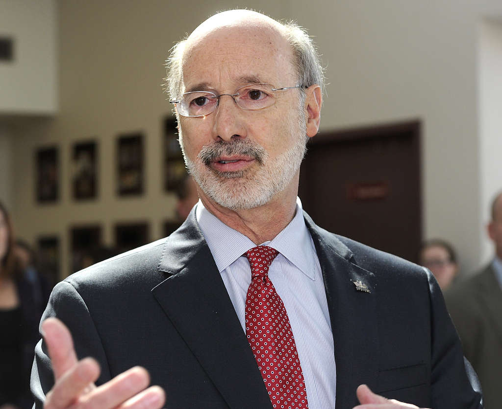 Gov. Wolf wants the two Pennsylvania state employee retirement systems to cut back on high-fee fund management.