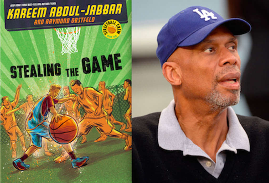 PRESS BOX PUBLICITY ´Stealing the Game´ is Kareem Abdul-Jabbar´s second book in the Streetball Crew series.