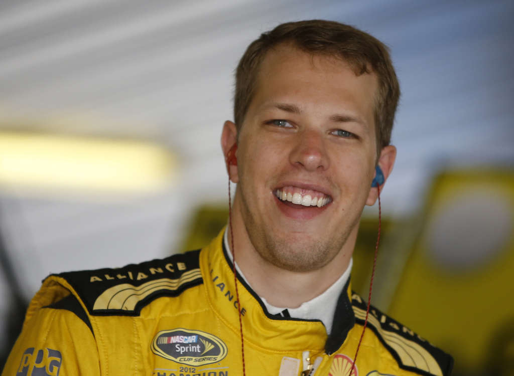 ASSOCIATED PRESS Brad Keselowski led for only one lap on Sunday but it was the final lap - good enough for the win.