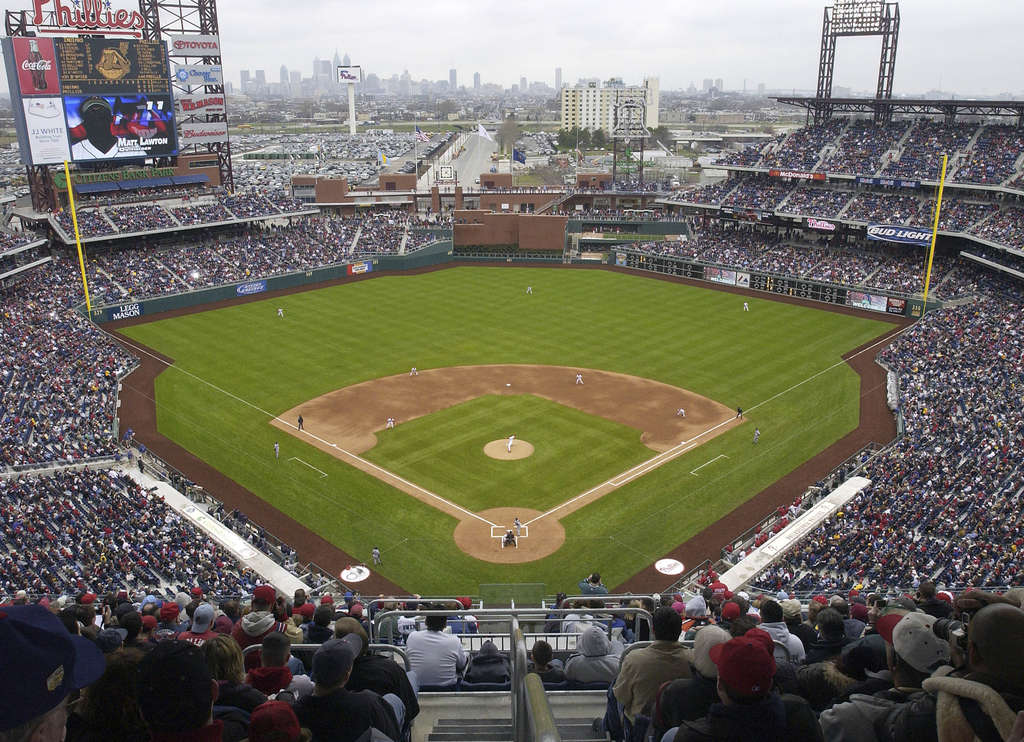 Citizens Financial Group owns the naming rights to the Phillies´ stadium, Citizens Bank Park.