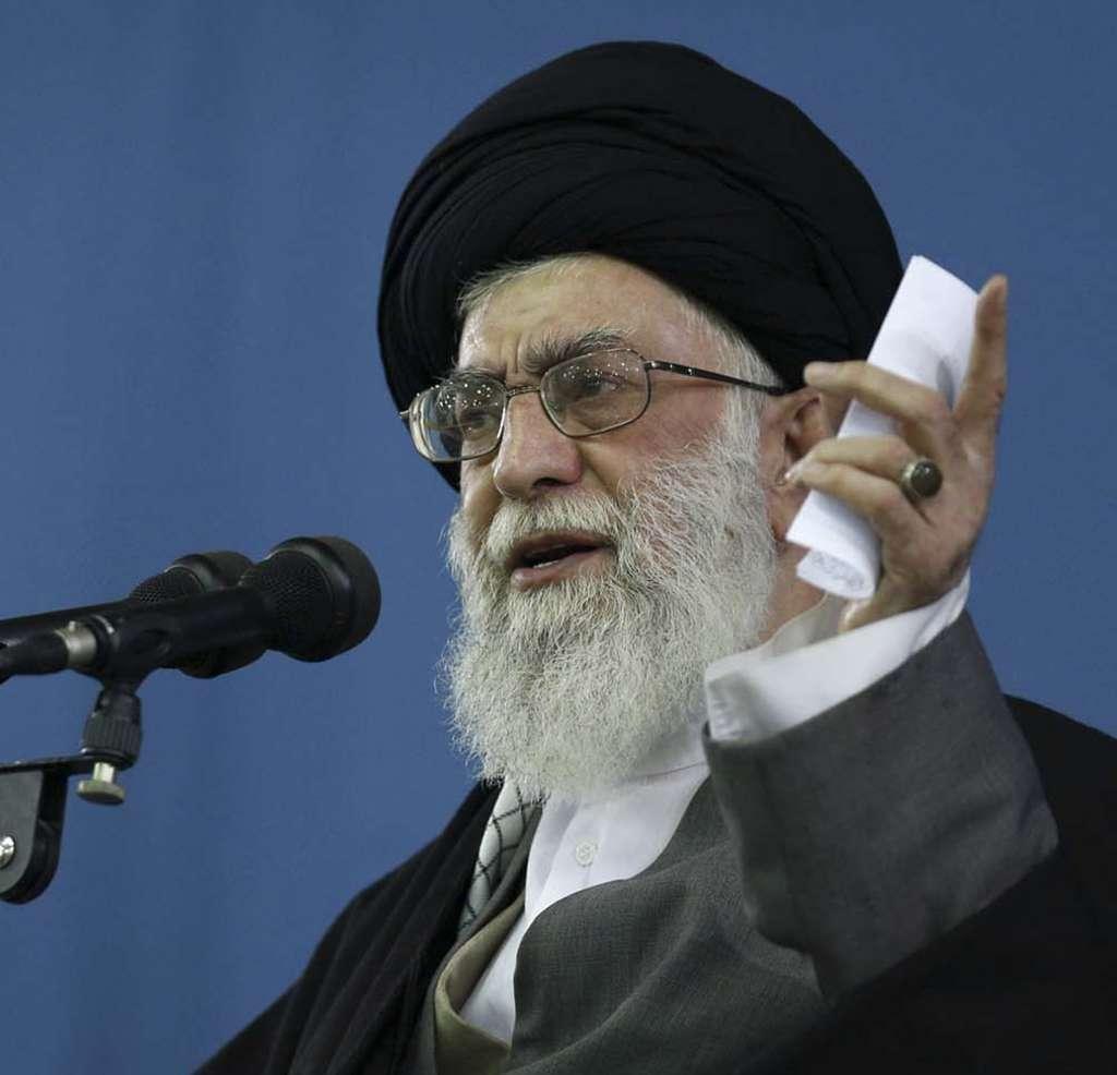 Ayatollah Ali Khamenei Associated Press