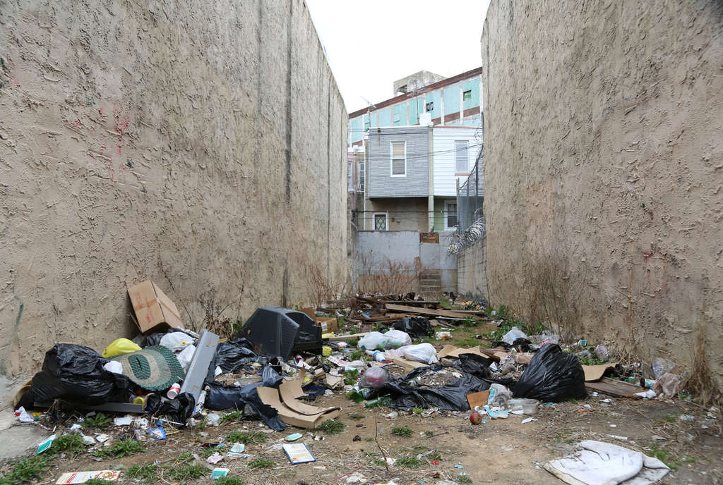 JAMIE MOFFETT Littering and illegal dumping are major sources of blight in Kensington and other parts of the city. Would more garbage cans alleviate the problem, or just attract more dumpers who trash up the place?