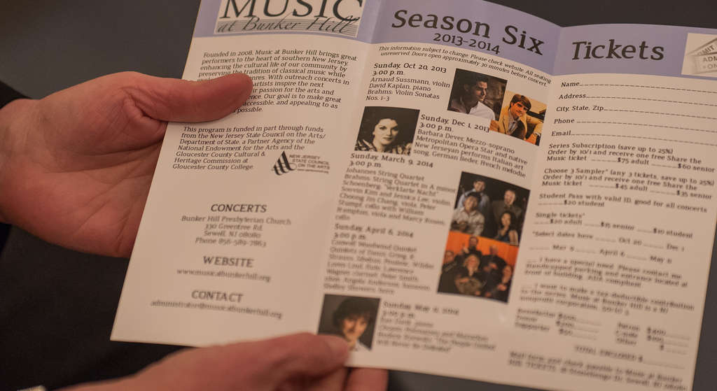 "A brochure lists musicians who have taken part. A subscriber says that when first-time attendees come, ""their jaws drop."""