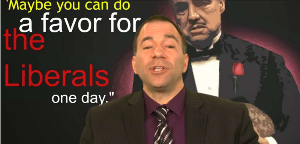 Judicial candidate William Ciancaglini had this special-effect heavy video made for his campaign.