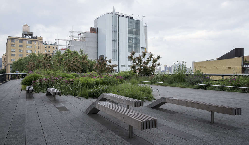 The High Line, with the new Whitney Museum in the background, is sure to generate more attendance for the museum. The flip side is that the resulting crowds can make serious art contemplation a challenge.