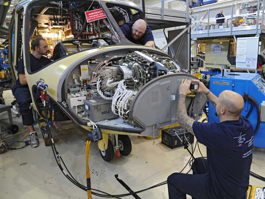 Helicopter maker AgustaWestland Philadelphia Corp. is seeking $10 million for expansion.