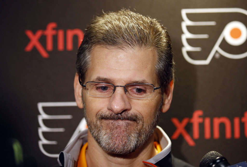 YONG KIM / STAFF PHOTOGRAPHER Ron Hextall has managed to remain patient and composed as Flyers general manager.