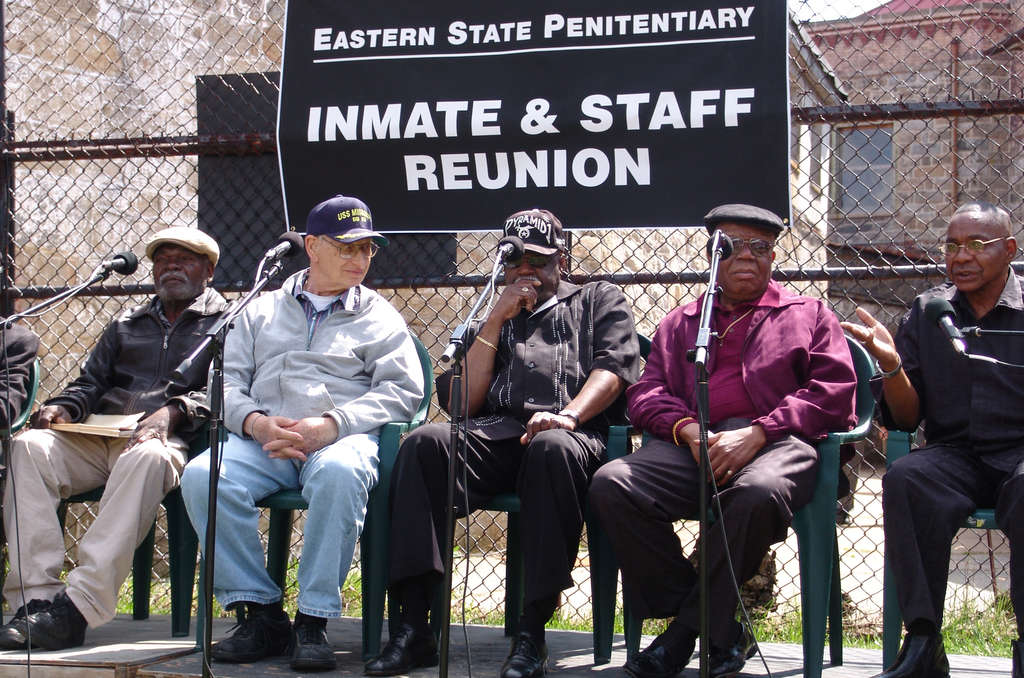 Alumni of Fairmount's Eastern State meet once a year to give insight on prison's historic past.  (Courtesy of Eastern State Penitentiary)