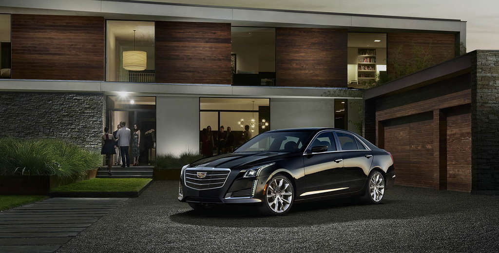 The2015 Cadillac CTS´s 270 horses give the four-cylinder turbo a much bigger feel. What doesn´t feel quite so big: The backseat.