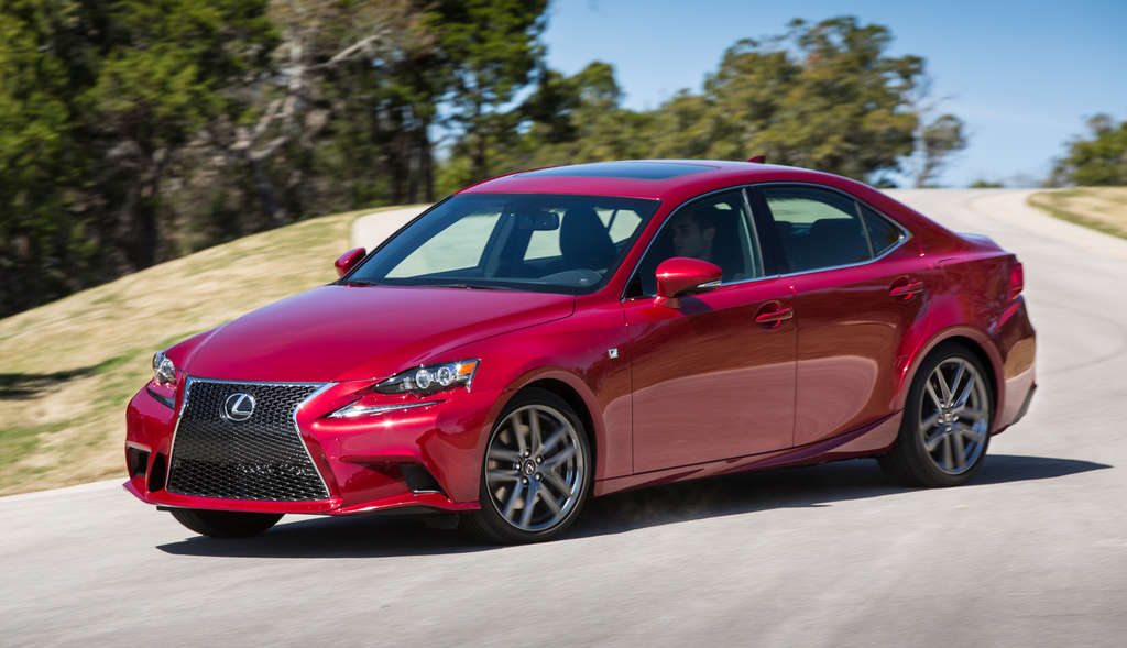 The 2015 Lexus IS350 F-Sport AWD comes with a $50,525 sticker price as tested.