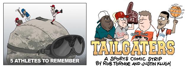 Memorial Day sacrifice athletes sports