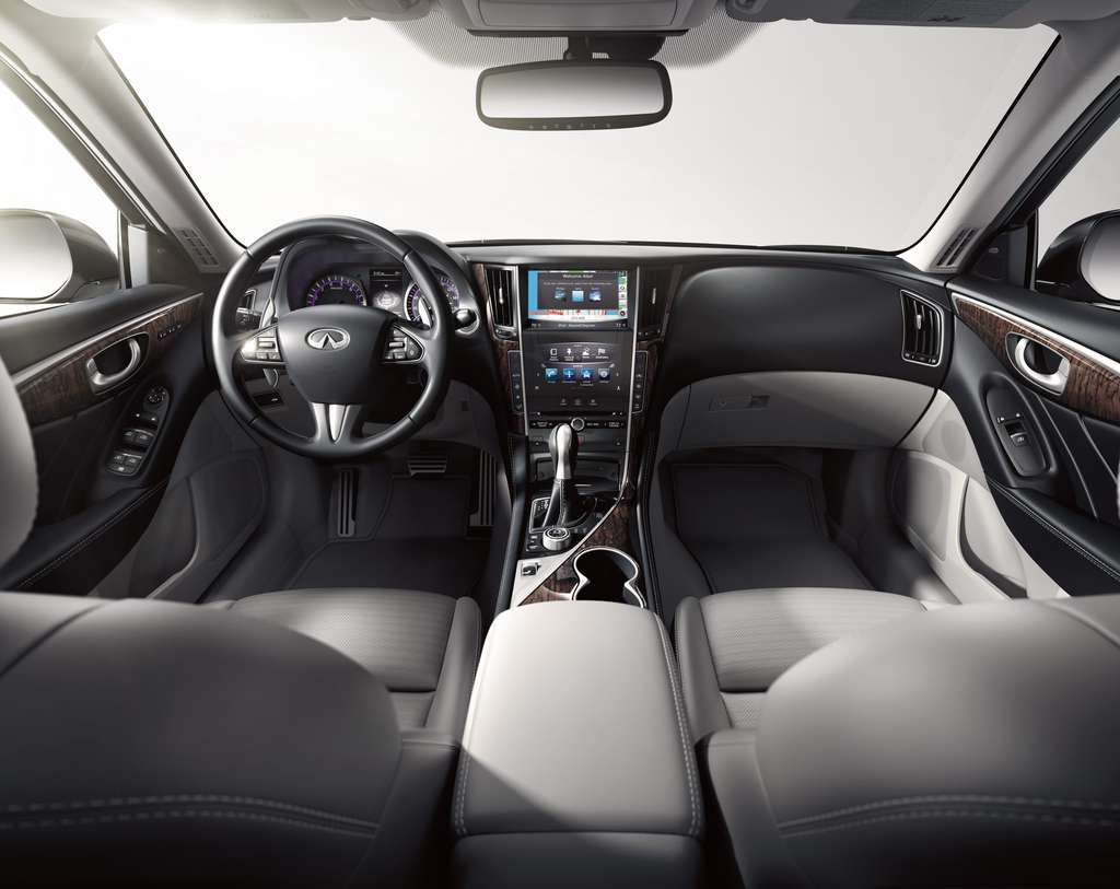 Inside, the car is outfitted with advanced digital tech, but some functions are puzzling.