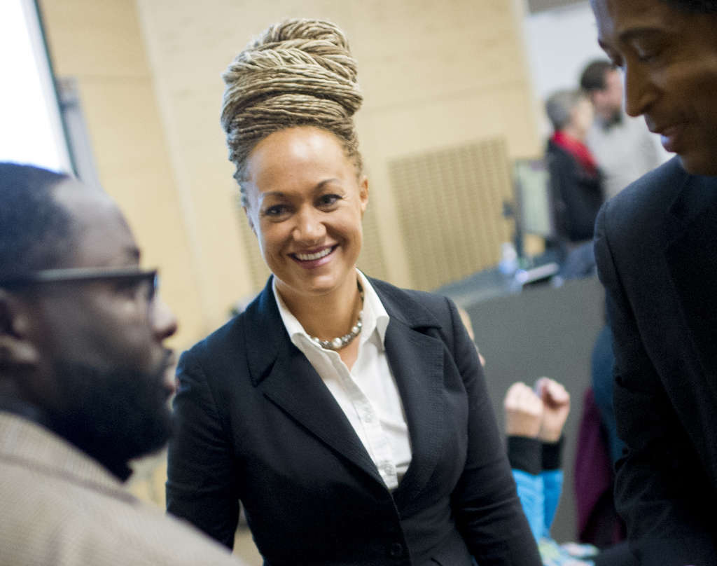 ASSOCIATED PRESS Rachel Dolezal voluntarily left her post as Spokane, Wash., NAACP president, but she hasn´t admitted lying about her race.