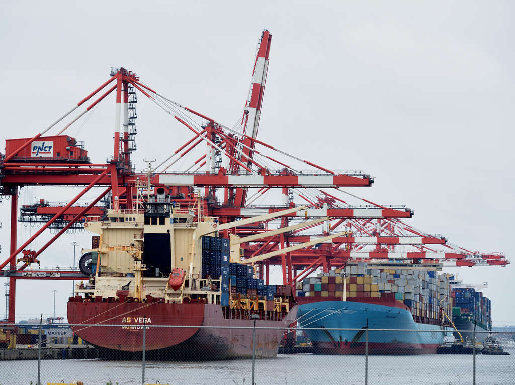 Cargo ships at the Port of Newark in Newark, N.J. The Trans-Pacific Partnership or TPP, would expand U.S. economic links with the fastest-growing sector of the world economy. East Coast ports hope to benefit from more trade and cargo from Asia when the widened Panama Canal opens in early 2016.