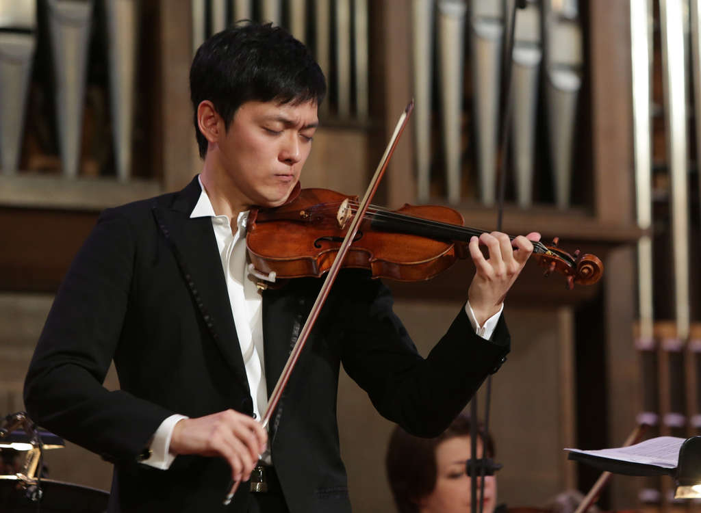 """Yu-Chien """"Benny"""" Tseng , 20, of Taiwan, who came to Curtis in 2008, won the silver medal in the International Tchaikovsky Competition."""