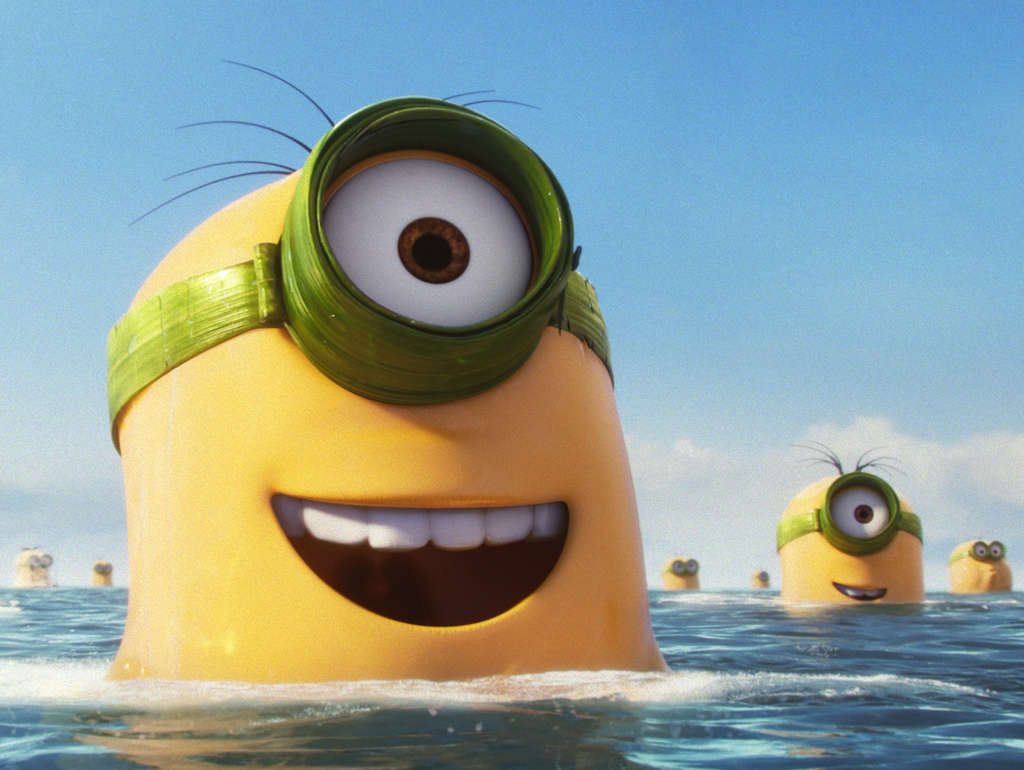 """Minions"": A spinoff of, and prequel to, the ""Despicable Me"" movies. (Photo: Universal Pictures and Illumination Entertainment)"