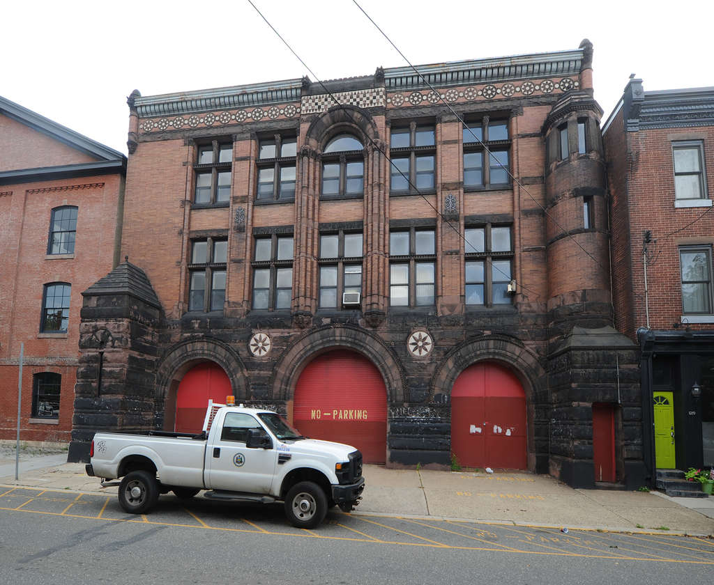 The 19th-century firehouse on Fourth Street in South Kensington is now a record storage center for the city. In 1979, the fire department deemed the arched doors too narrow for its trucks.
