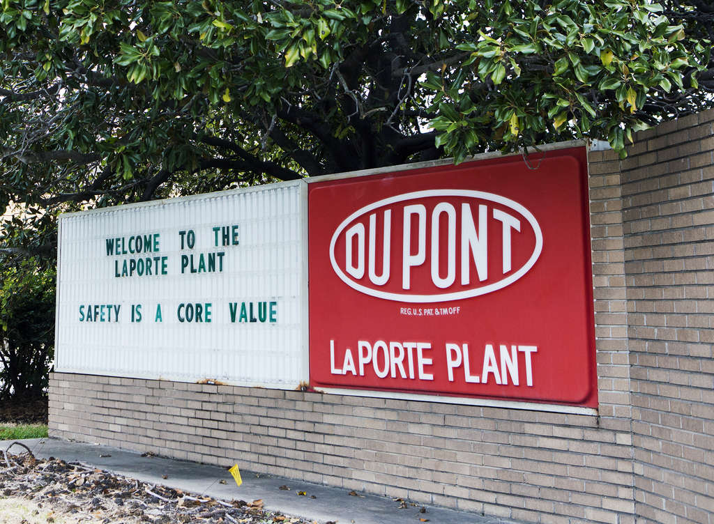 The DuPont plant in La Porte, Texas, where four workers died in a gas leak last year.The chemical giant said it was addressing OSHA´s findings.