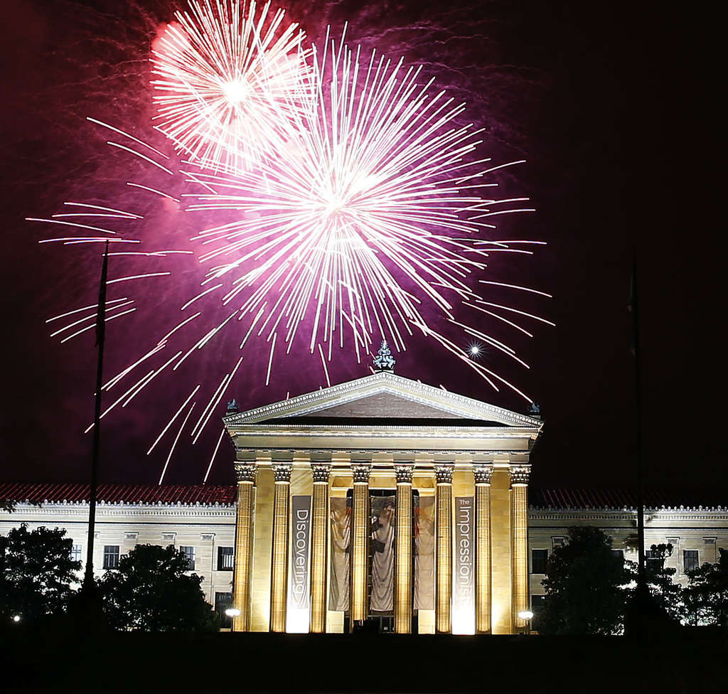 YONG KIM / STAFF PHOTOGRAPHER Questions about why these July Fourth festivities ran so late have gone unanswered by the city.