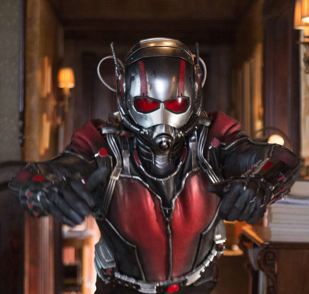 "Mighty, small: Paul Rudd in ""Ant-Man."""