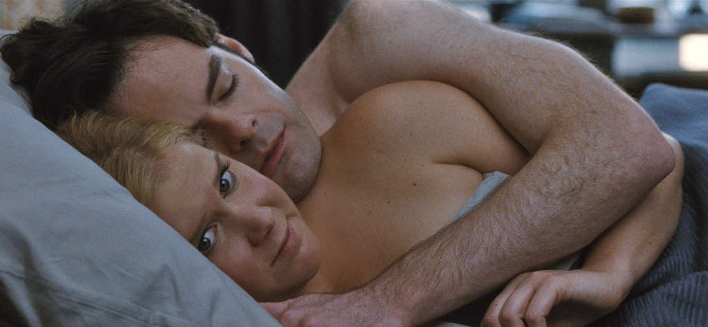 """Amy Schumer and Bill Hader in """"Trainwreck."""""""