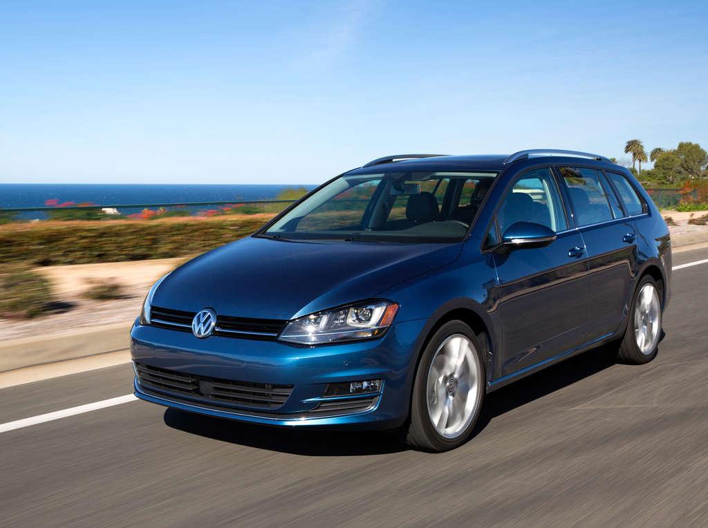 2015 Volkswagen Golf SportWagen TDI has 66.5 cubic feet of space.