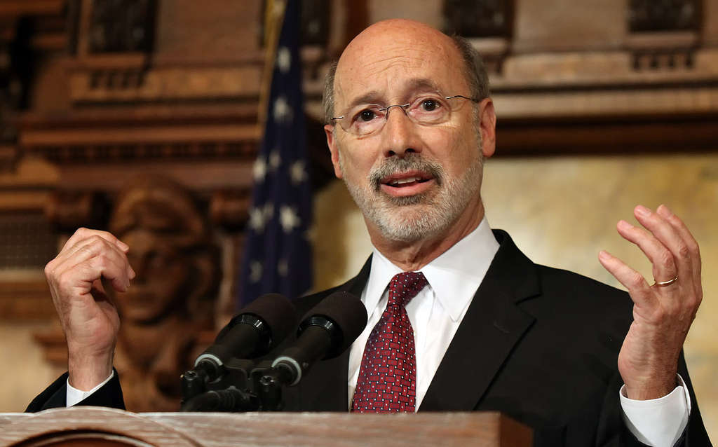 CHRIS KNIGHT / ASSOCIATED PRESS Gov. Wolf: Needs all the help he can get in the House for budget.