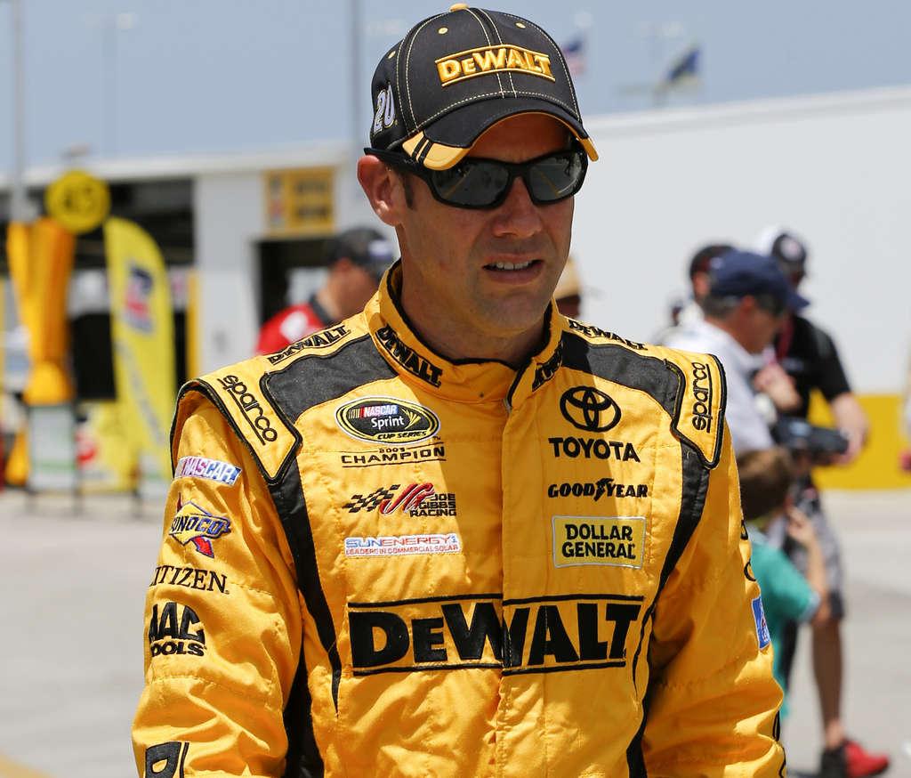 ASSOCIATED PRESS Matt Kenseth won when other drivers ran out of fuel.