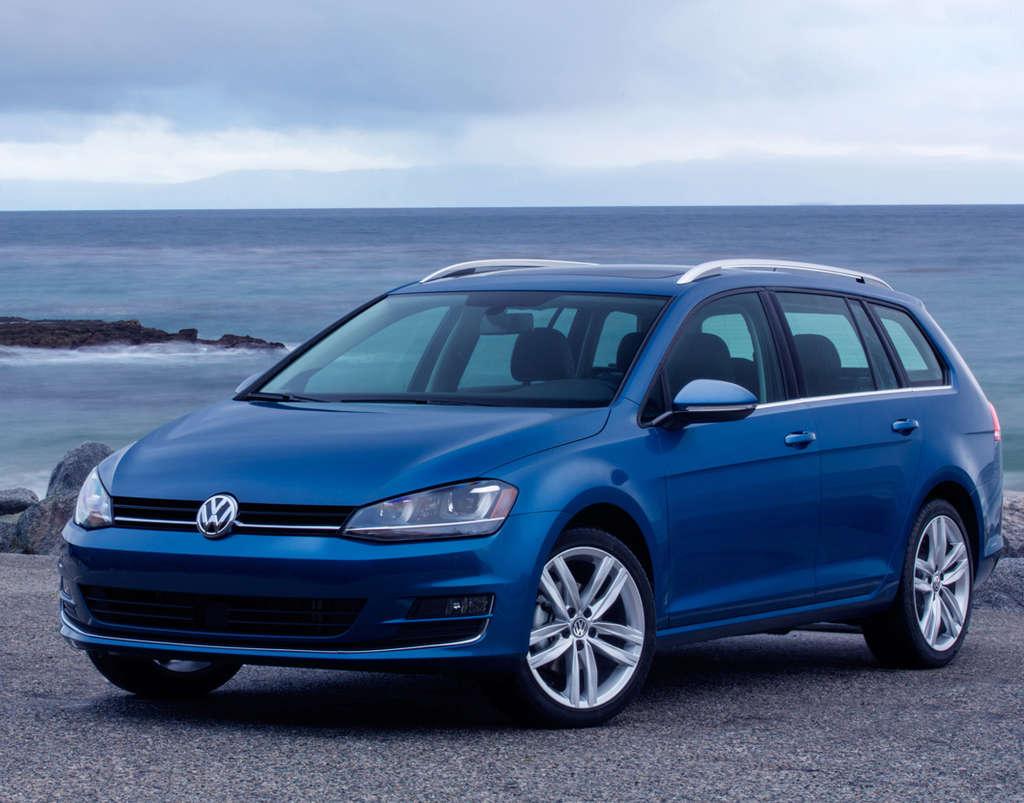 The total package: The 2015 Volkswagen Golf SportWagen.