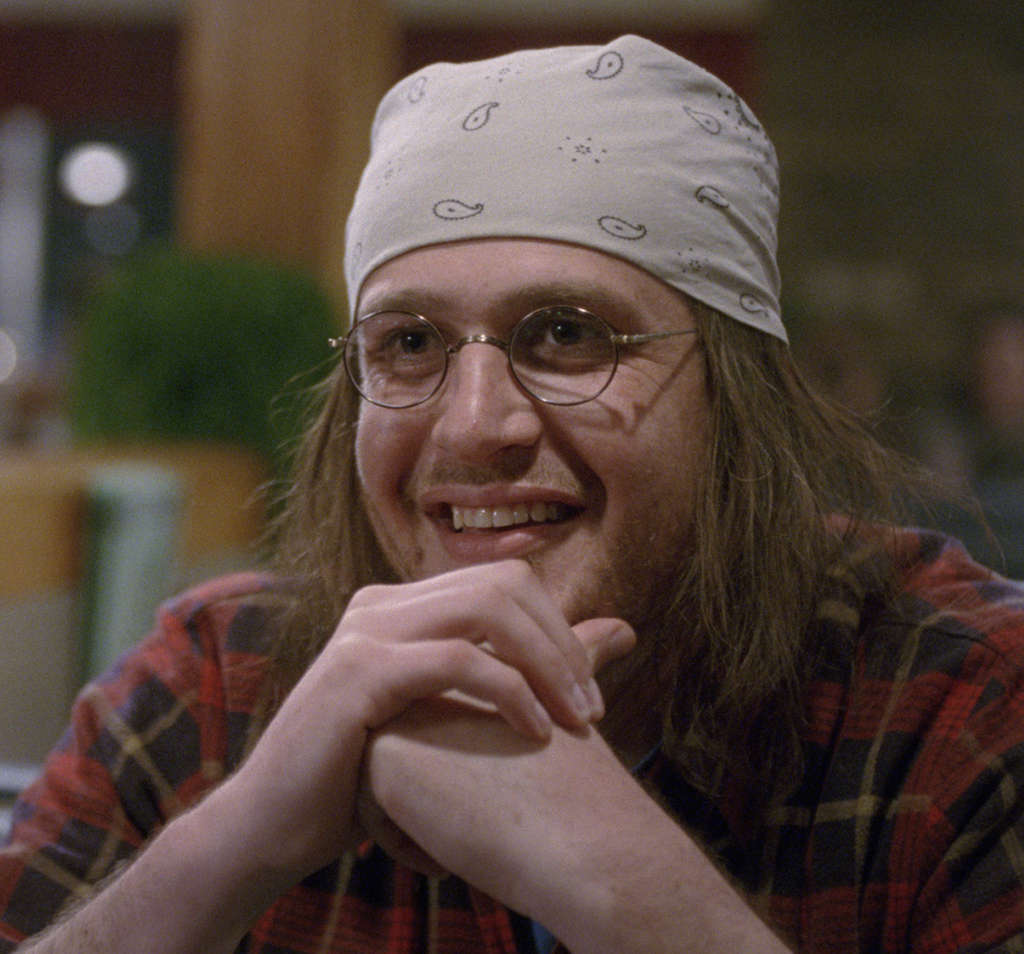 "Jason Segel stars as David Foster Wallace in ""The End of the Tour."""