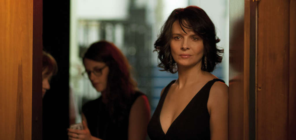 "Juliette Binoche is an actress in mid-career in ""Clouds of Sils Maria."""