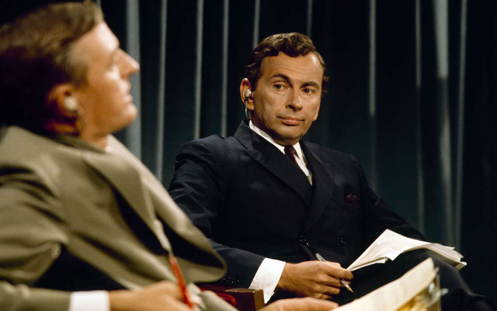 """Best of Enemies"" features the heated debates of William F. Buckley Jr. (left) and Gore Vidal during coverage of the 1968 party conventions. ABC"