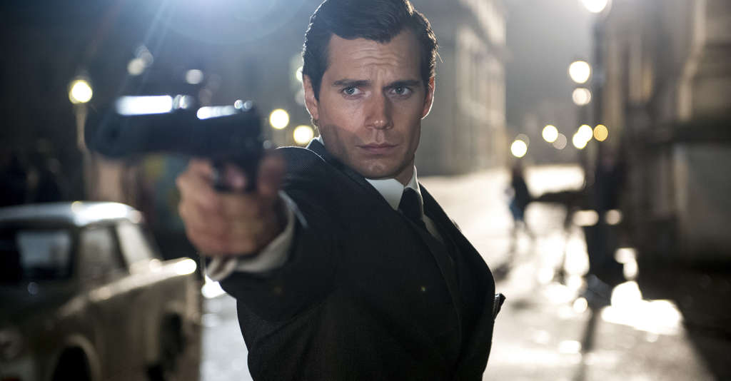 "Henry Cavill portrays the droll and debonair CIA operative Napoleon Solo in the reheat of the 1960s TV show ""The Man From U.N.C.L.E."""