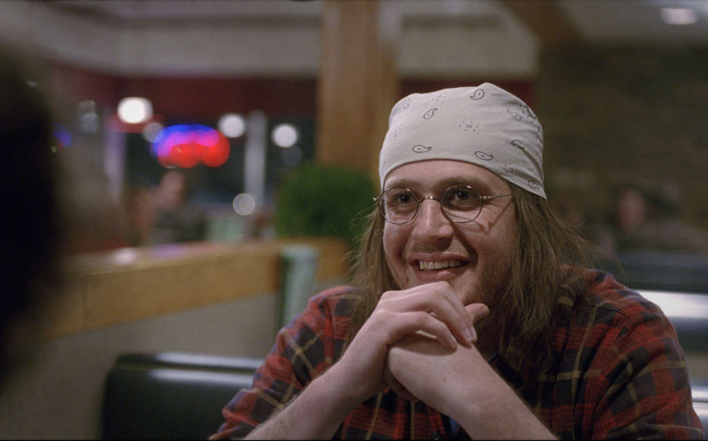 "Jason Segel portrays writer David Foster Wallace in ""The End of the Tour."""