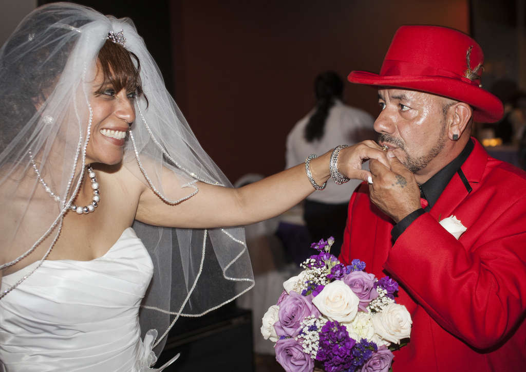 "Aida Matos and Miguel ""Mike"" Madrigal Garcia. AL HEFNER / Hefner Photo & Video"