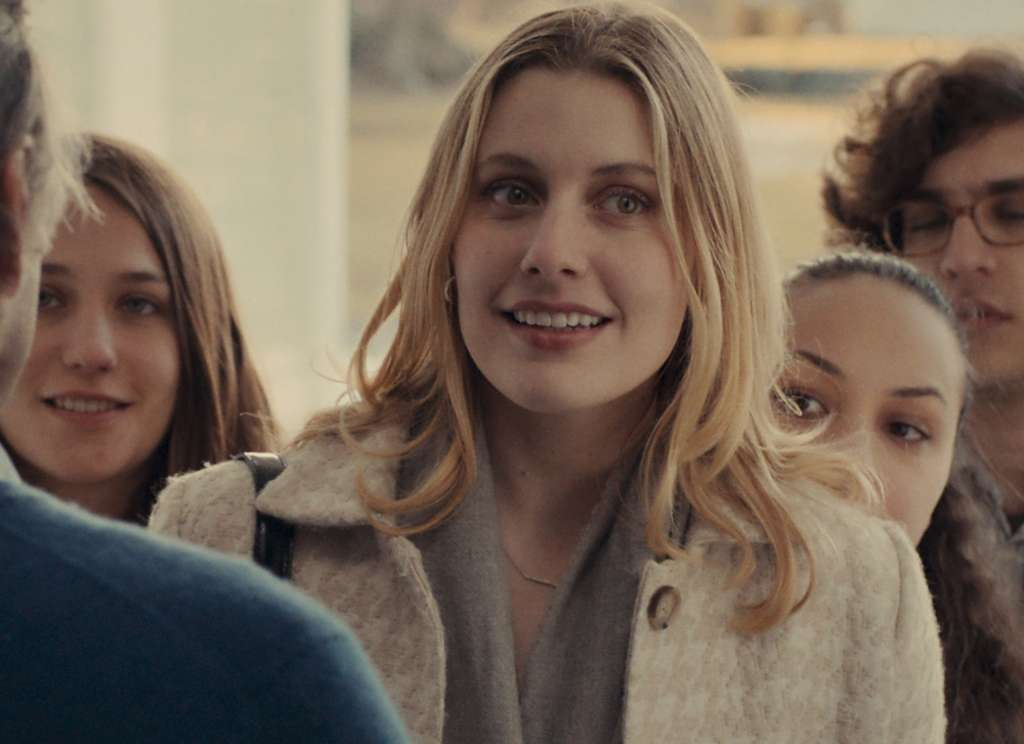 "Greta Gerwig co-wrote and stars in ""Mistress America."""