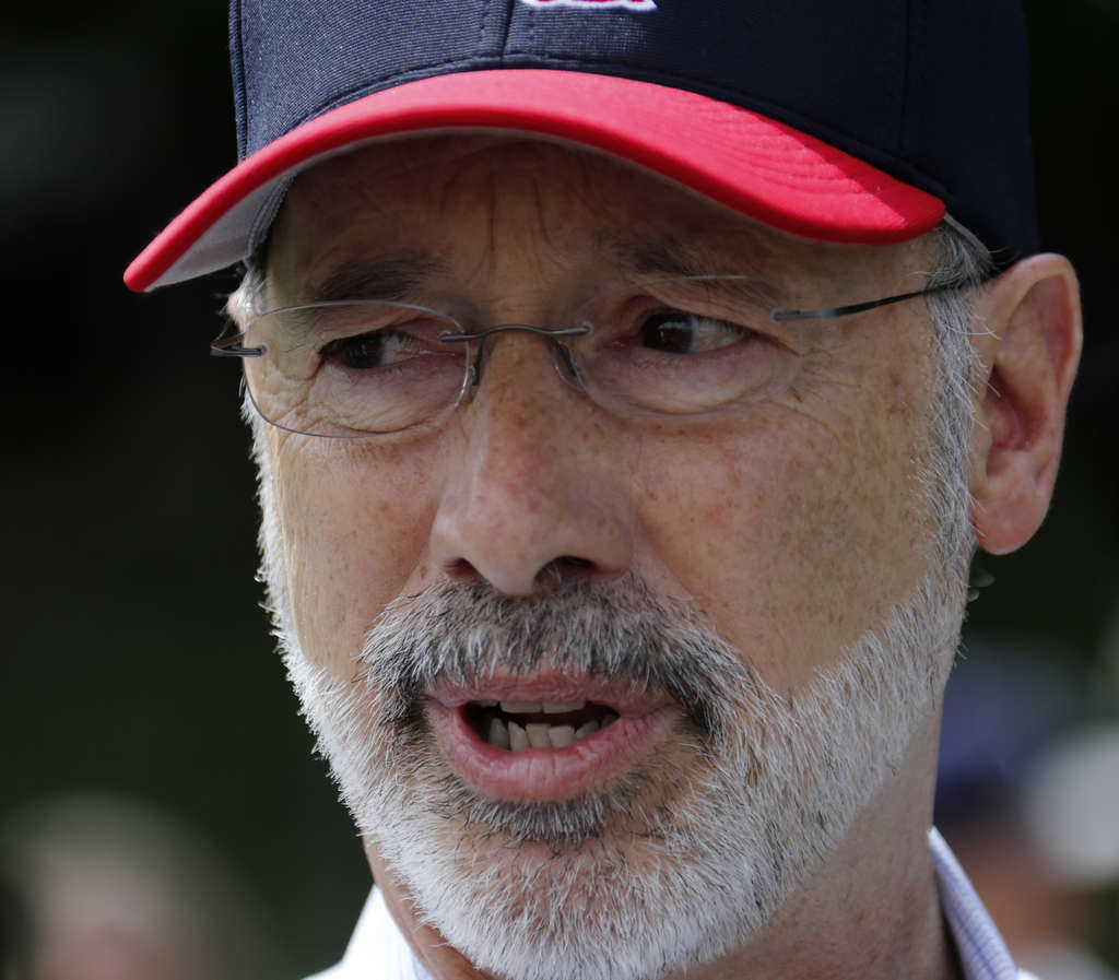 GENE J. PUSKAR / ASSOCIATED PRESS Gov. Tom Wolf set the stage for a stalemate when he vetoed a GOP budget.