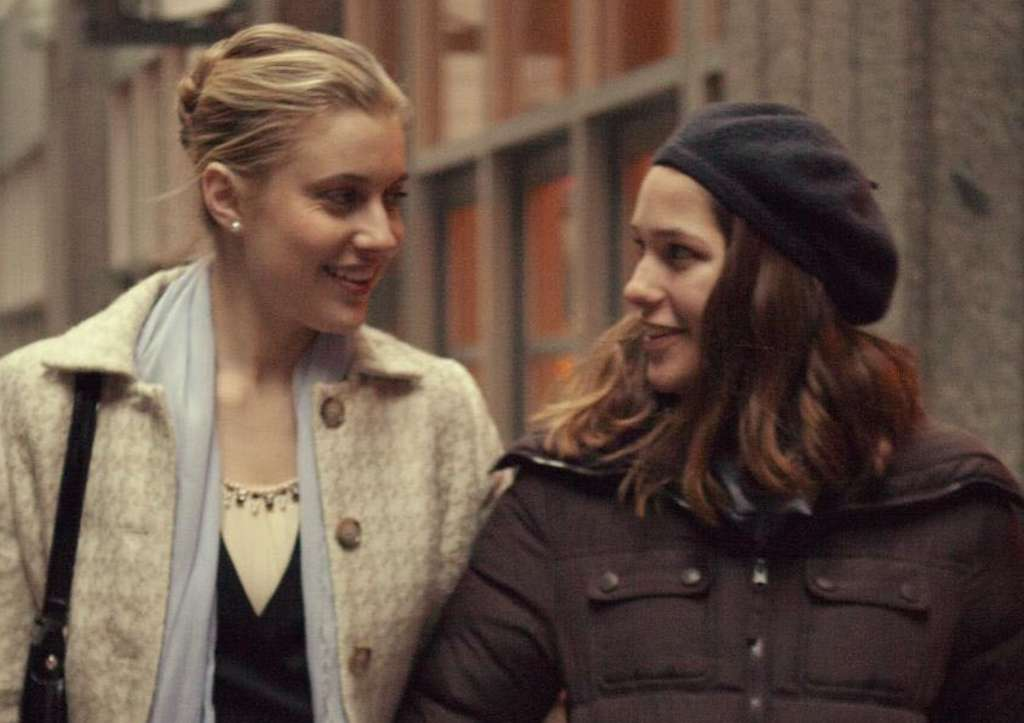 "Greta Gerwig (left) and Lola Kirke star in ""Mistress America."""