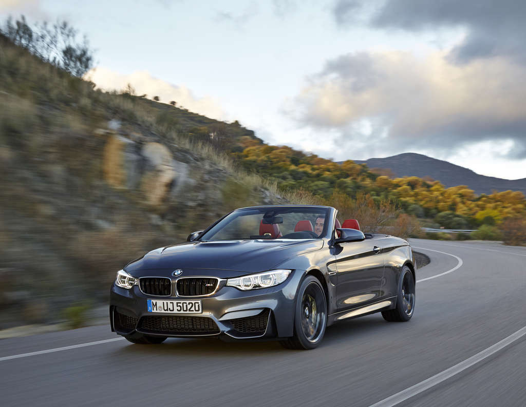 The impressive BMW M4 Convertible is almost too smooth for its own good at top speeds.