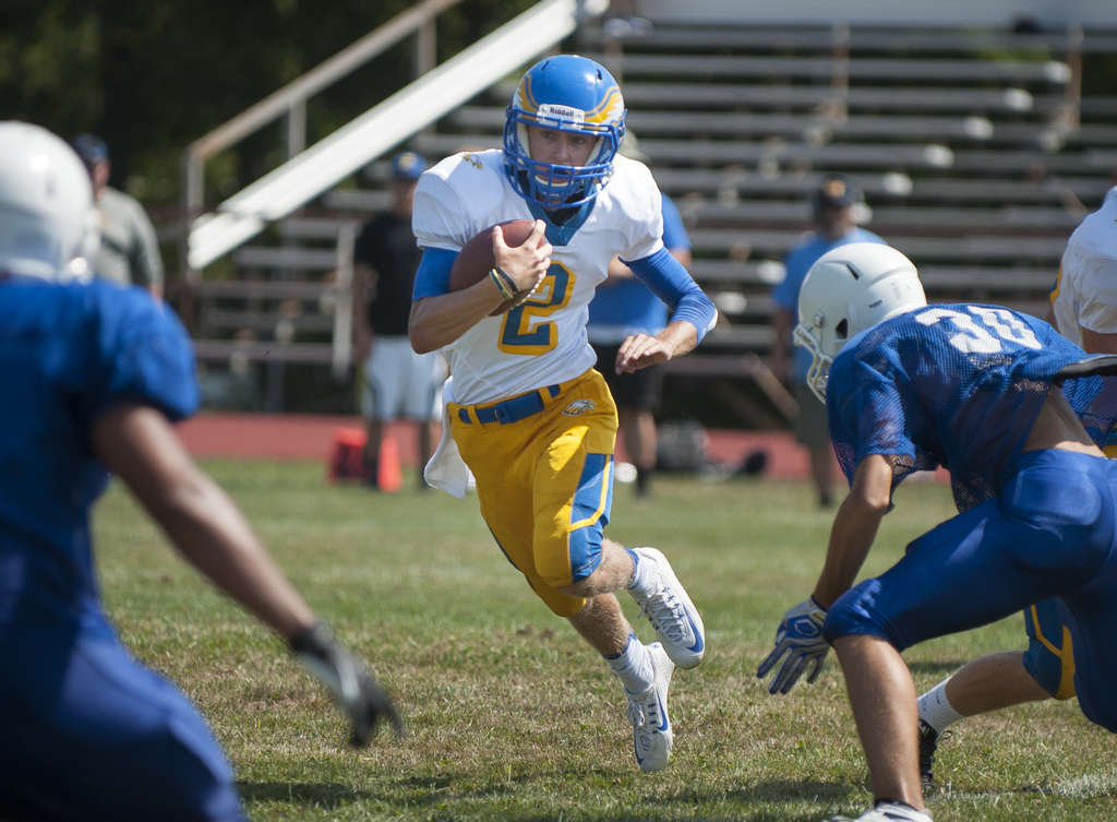"Pennsville quarterback Matt Widmaier and his Eagles teammates have dedicated their season to injured friend and player Kyle Pszenny, who was struck by a car while skateboarding in early June. Pszenny suffered a brain injury, broken bones, and a dislocated neck, and is still recovering in a hospital. ""Nobody wanted to win a state championship more than him,"" Widmaier said."