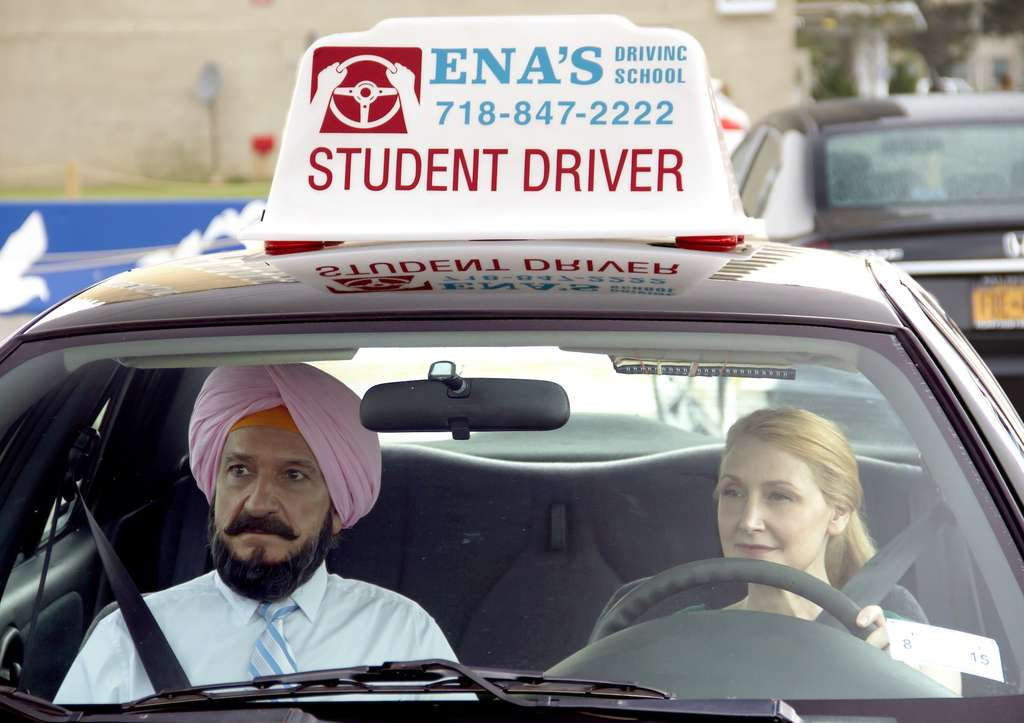 """Learning to Drive,"" about friendship, loneliness, resilience, stars Ben Kingsley and Patricia Clarkson."