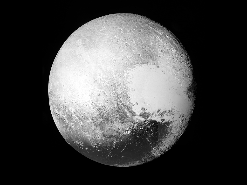 Pluto seen in full in new high resolution images
