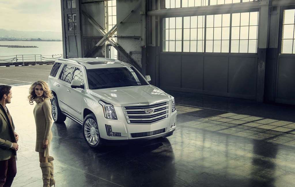 The 2015 Cadillac Escalade gets a new look for the model year, but remains distinctly beautiful - and large.
