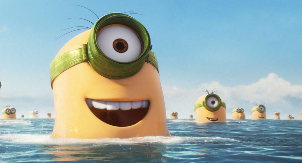"""""""Minions"""" is among the animated films worked on by Oregon´s E-on Software."""