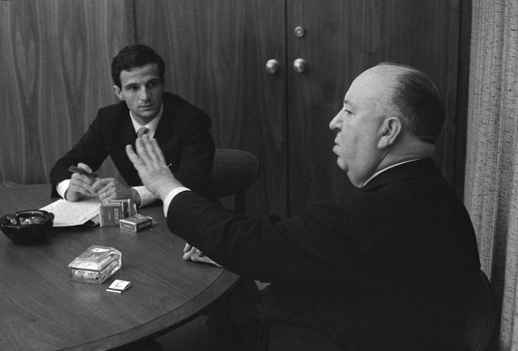 "Francois Truffaut interviews Alfred Hitchcock . ""Hitchcock/Truffaut"" is Kent Jones´ documentary on the directors´ weeklong interview session."