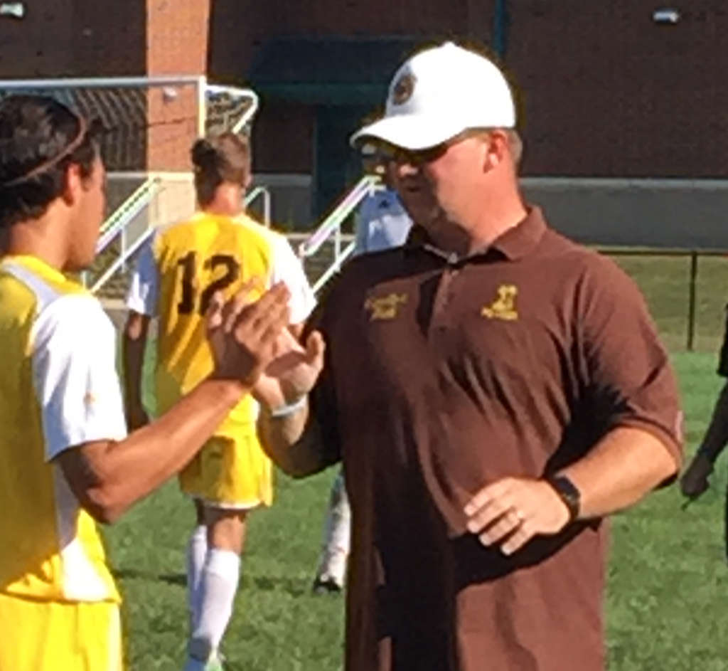 Delran´s Mike Otto endured a health scare last week, but he quickly returned to the sideline.