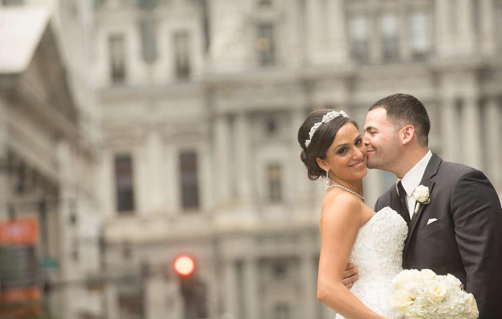 Stefania Veneziale and Michael DeMarco. Chris Hensel Wedding Photography