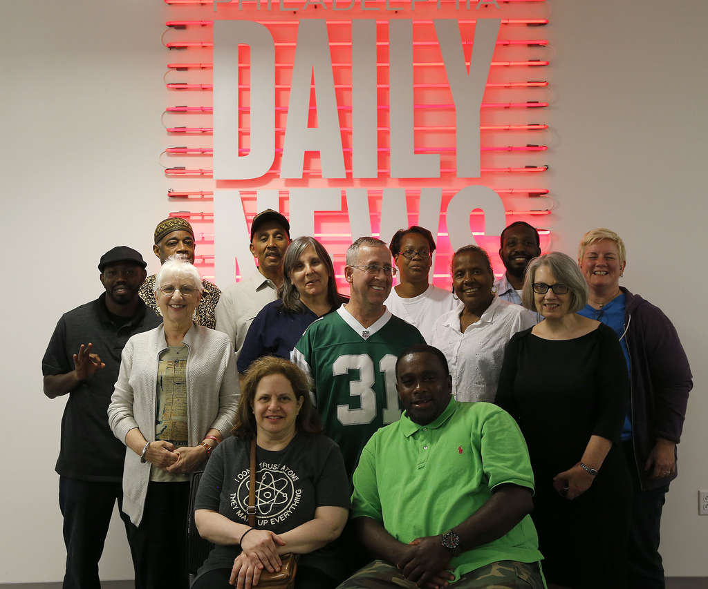 Every year , a group of Daily News readers is chosen to watch fall pilots with TV critic Ellen Gray and weigh in with their thoughts. This year´s Everybody´s a Critic panel included (standing, from left): Brian Burrus, Robert Moore, Paula Cohen, David E. Jones, Judy Weightman, David G. Beck, Stephanie Stith, Karen I. Carter, Michael Hickson, Gray and Kirsten Winering. Seated (from left): Randi Goldberg and Joe White.